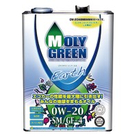 Моторное масло MOLY GREEN EARTH SM/GF-4 0W20