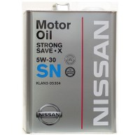 Моторное масло NISSAN STRONG SAVE-X SN 5W-30